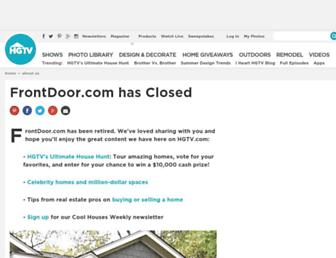 Thumbshot of Frontdoor.com