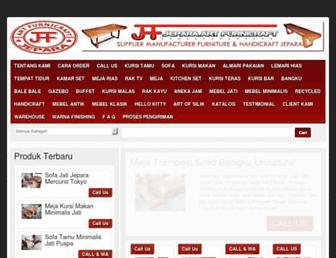 jeparahandicraft.net screenshot