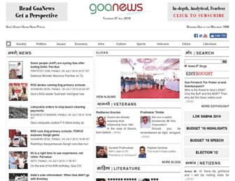 Thumbshot of Goanews.com
