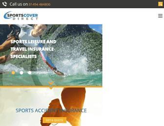 sportscoverdirect.com screenshot