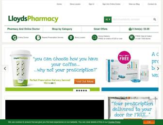 Thumbshot of Lloydspharmacy.com