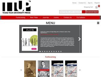 ttupress.org screenshot