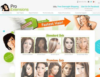Thumbshot of Proextensions.com