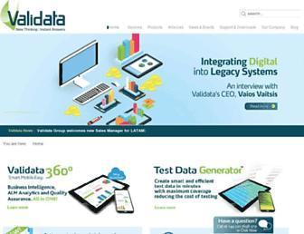 validata-software.com screenshot