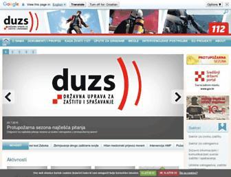 duzs.hr screenshot