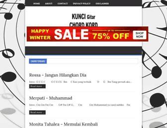 kumpulankordgitarterbaru.blogspot.com screenshot