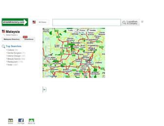 streetdirectory.com.my screenshot