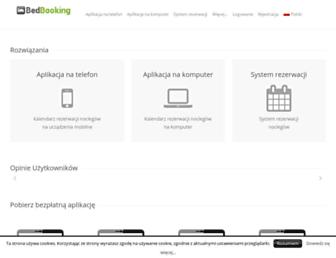 bed-booking.com screenshot