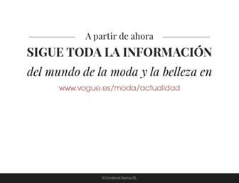 Main page screenshot of condenast-profesional.es