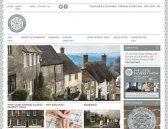lpoc.co.uk screenshot