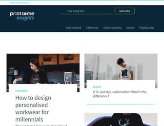 blog.printsome.com screenshot