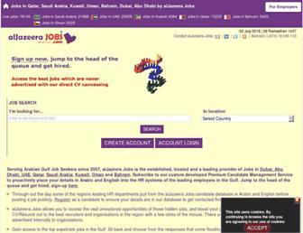 Thumbshot of Aljazeerajobs.com