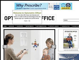 optometricoffice.com screenshot