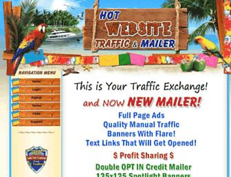 Thumbshot of Hotwebsitetraffic.com