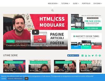 marchettidesign.net screenshot