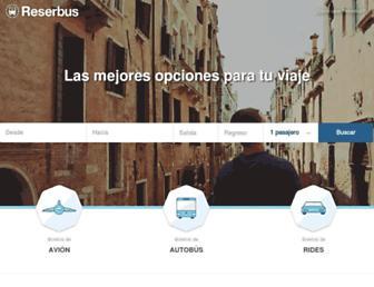 Thumbshot of Reserbus.mx