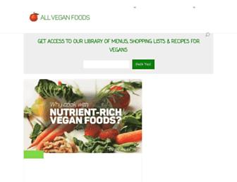 Thumbshot of Allveganfoods.com