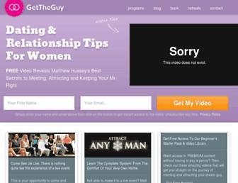 howtogettheguy.com screenshot