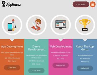 theappguruz.com screenshot