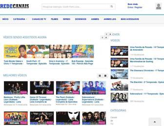redecanais.net screenshot
