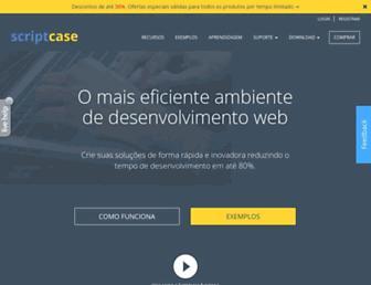 scriptcase.com.br screenshot