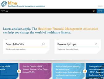 hfma.org screenshot