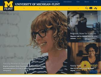 umflint.edu screenshot