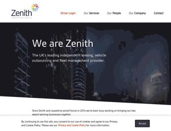 zenith.co.uk screenshot