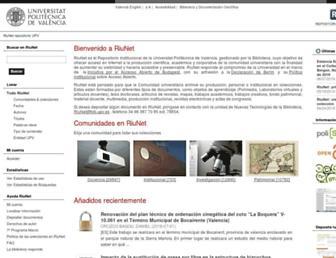 riunet.upv.es screenshot
