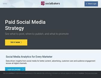 socialbakers.com screenshot