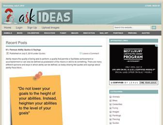 askideas.com screenshot