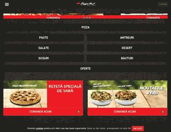 pizzahutdelivery.ro screenshot
