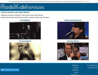 muziekluisteren.eu screenshot