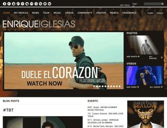 Thumbshot of Enriqueiglesias.com