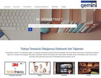 geminiltd.com.tr screenshot