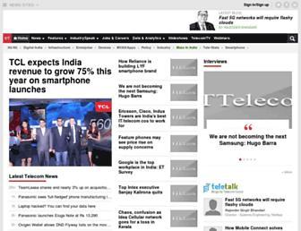 telecom.economictimes.indiatimes.com screenshot