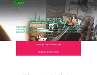 sageone.co.za screenshot