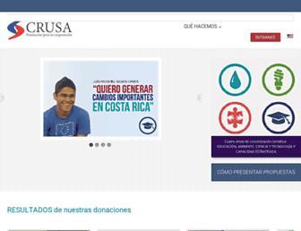 crusa.cr screenshot