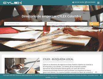 cylex.com.co screenshot
