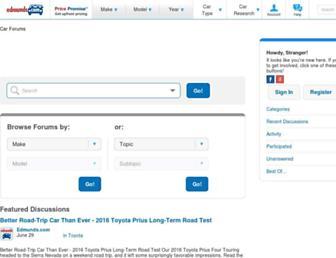 forums.edmunds.com screenshot