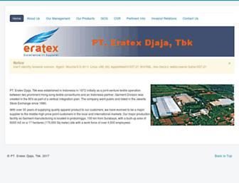 eratexco.com screenshot