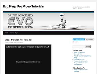 Thumbshot of Evopro.tv