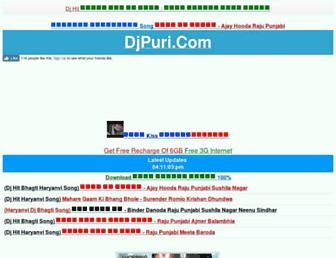 djpuri.com screenshot