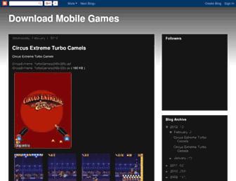 dmobilegames.blogspot.com screenshot