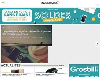 Thumbshot of Lesnumeriques.com