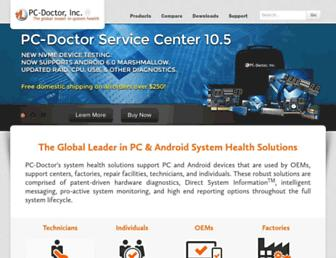 pc-doctor.com screenshot