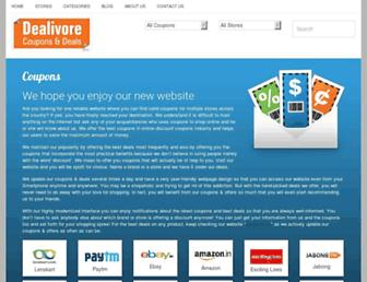 Thumbshot of Dealivore.com
