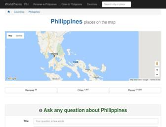 philippines.worldplaces.me screenshot