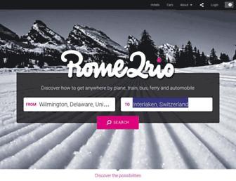Thumbshot of Rome2rio.com
