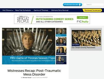 Thumbshot of Tvline.com